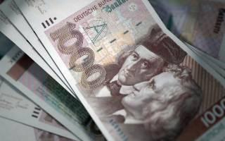 Как называются деньги в германии