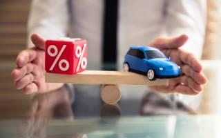 Какие проценты на автокредиты