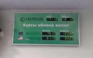 Как поменять евро на рубли в сбербанке