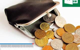 Как вести финансовый учет в excel