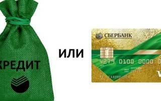 Что выгоднее кредит или кредитная карта