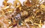 Какое золото принимают в ломбард